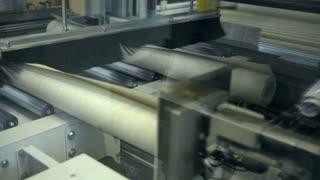 A wallpaper making machine