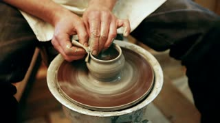 Making pots out of clay