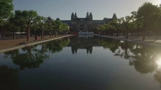 Flying over the pond to the slogan I amsterdam and Rijksmuseum, Netherlands