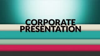 Apple Motion Template: Corporate Presentation