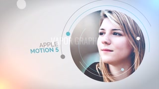 Circle Presentation: Template for Apple Motion 5 and Final Cut Pro X