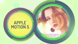 Circular Process: Template for Apple Motion 5 and Final Cut Pro X