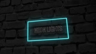 Neon Lights: After Effects Template