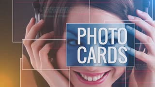 Photo Cards: Template for Apple Motion 5 and Final Cut Pro X