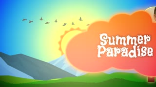 Summer Paradise: Template for Apple Motion 5 and Final Cut Pro X