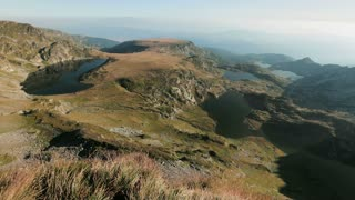 Static footage of a summer morning at the Rila mountain lakes in Bulgaria.