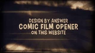 Comic Slide Opener