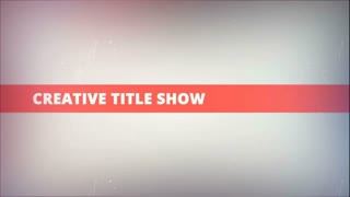 Creative Title Show