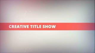 Creative Title Show