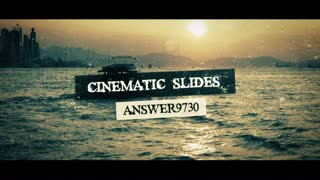 Cinematic Slides