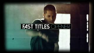 Fast Titles Opener