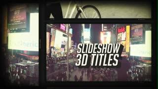 Slideshow 3 D Titles