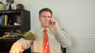 businessman on phone