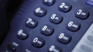 communication with digital keypad of office phone macro