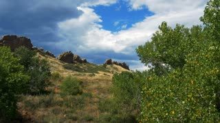 devils backbone colorado hiking trail 4k