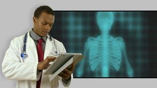 Doctor Skeleton Scan