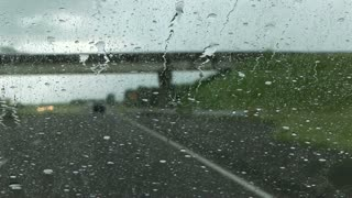 driving in the storm
