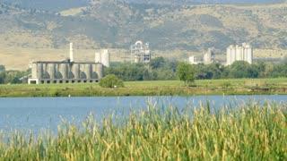 grain processing plant.