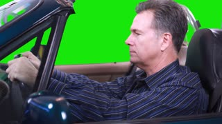 green screen driving matte