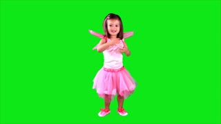green screen little fairy