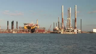 jack rig in galveston bay