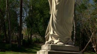 jib  to cemetery angel