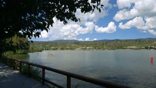 kayakers on grand lake colorado