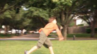 kids throwing ball