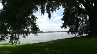 Lake Peigneur south Louisiana
