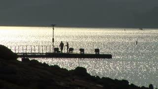 lake travis silhouette