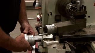 metal lathe operator