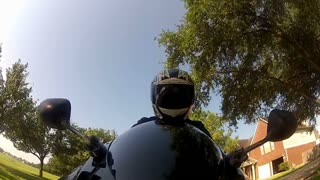 motorcycle rider pov view