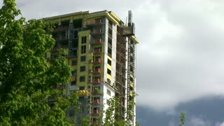 new highrise building construction