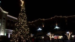 night christmas lights