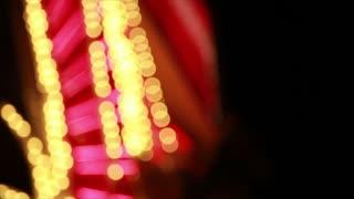 out of focus Las Vegas lights