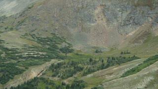 pan across a valley.