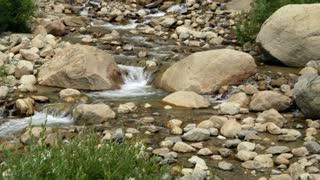 pan across stream.