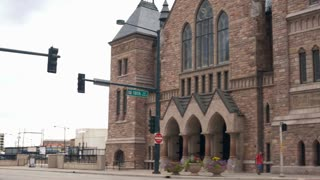 pan trinity methodist church denver colorado 4k.