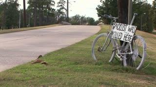 roadside bike memorial
