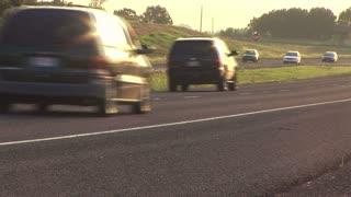 rural highway traffic