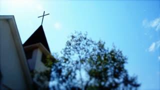 stylized church cross