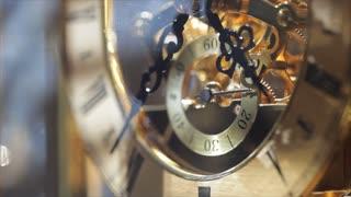 sunlit macro clock