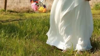 tilt up new bride flowers