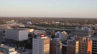Time Lapse traffic in houston texas