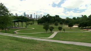 urban park in Houston Texas