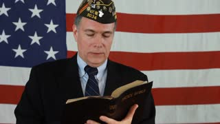 vet reads from bible