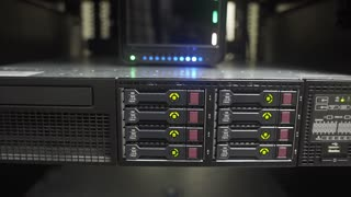 dolly across a corporate network server 4k