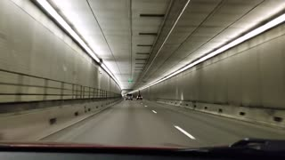 Driving In The Eisenhower Tunnel
