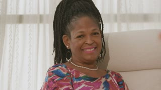 Lovely Smile from Pretty African American Lady