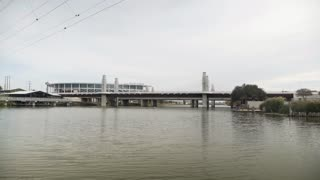 Mc Lane Stadium From The Brazos River In Waco Texas 4 K